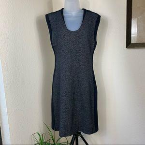 DIANE von Furstenberg Dress black bodycon size 6